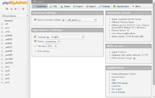 database-tab-in-phpMyAdmin