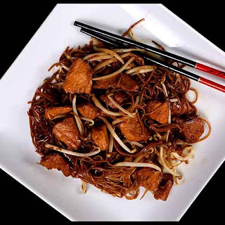 Stir Fried Noodles with Pork