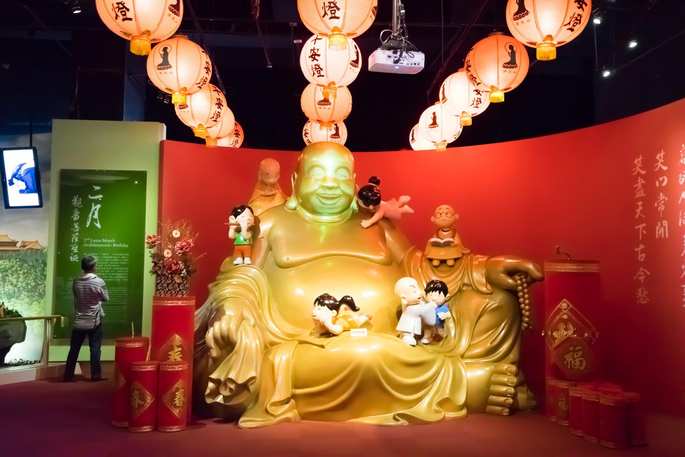 台湾 高雄 佛光山佛陀紀念館 展示3