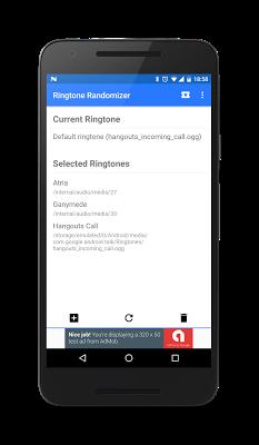 Ringtone Randomizer - screenshot