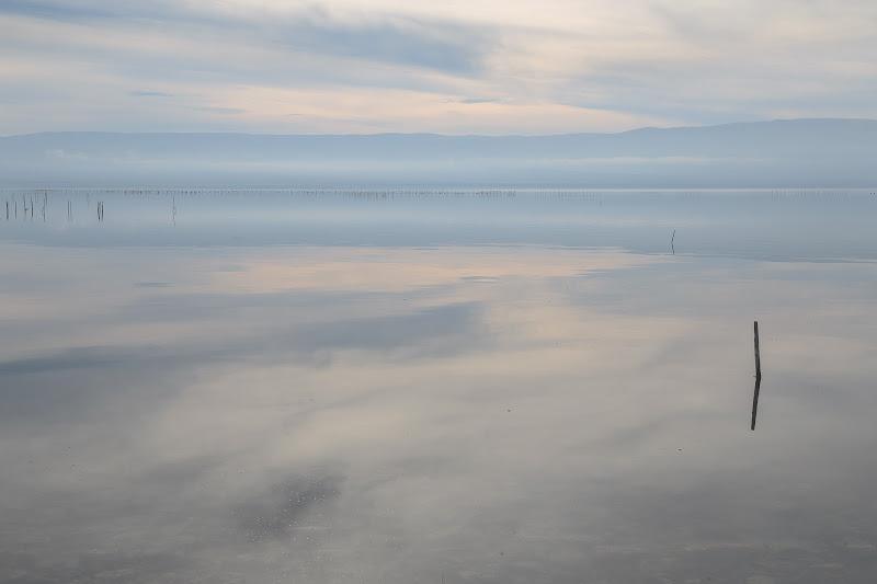 Uno specchio d'acqua di prometeo