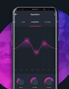 Music Player Style Samsung S8 edge - náhled