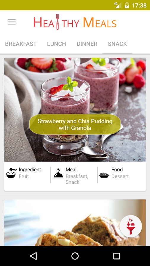 Healthy Eating - Healthy Food Recipes- screenshot