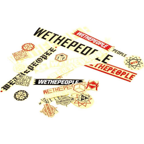 We The People Assorted Sticker Pack, 15 Stickers