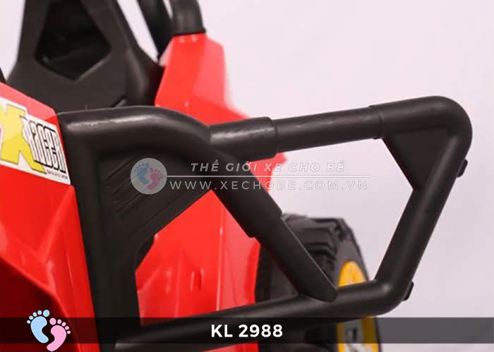 Xe ô tô điện đồ chơi trẻ em KL-2988 ghế da 18