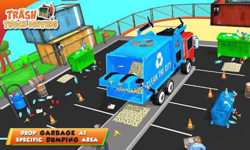 Urban Garbage Truck Driving - Waste Transporter 1 screenshots 6