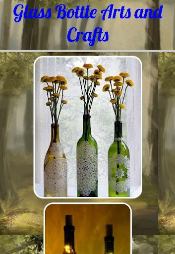 Download glass bottle arts and crafts for pc for Glass bottle art and craft