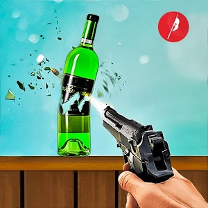 Real Bottle Shooting Free Games| 3D Shooting Games