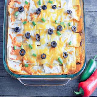 Extra Cheesy Taco Casserole.