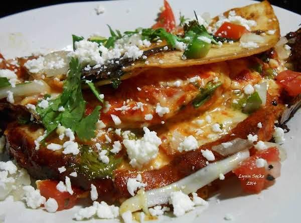 Roasted Tomato Mexican Thai Quesadilla