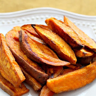 Grilled Sweet Potatoes with Cumin and Garlic.