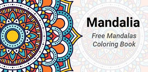 Mandalia Free Mandalas Coloring Book For Adults Google Play De