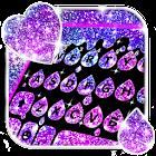 Thème de clavier Galaxy Drop Heart icon