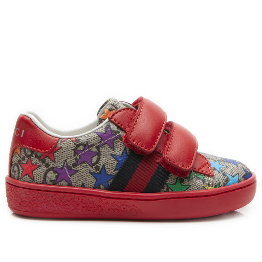 Primary image of Gucci Toddler Rainbow Star Trainer