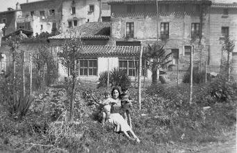 Photo: La Granja de Serafín (en la carretera). Proveedor: Ramón Ayala. Año: 1959.