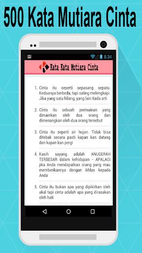 Download Kata Kata Mutiara Cinta Google Play Softwares