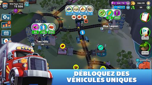 Transit King Tycoon - Jeu transport APK MOD – Pièces Illimitées (Astuce) screenshots hack proof 2