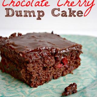 Double Chocolate Cherry Dump cake.