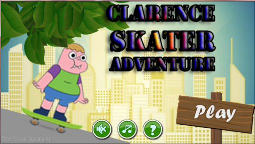 clarence skater adventure