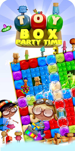 Toy Box Party Story Time - toys drop game! - screenshot