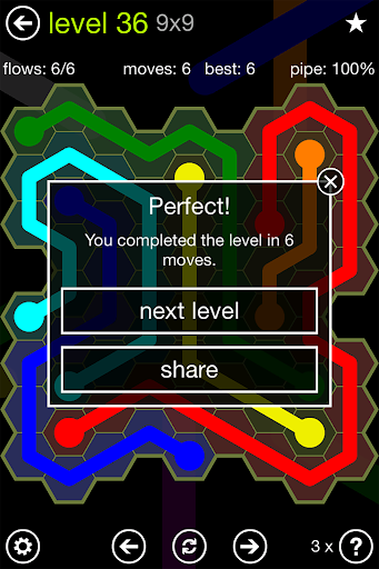 Flow Free: Hexes screenshot 7