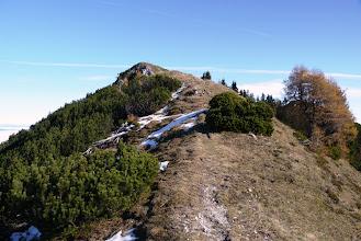 Photo: blizu vrha