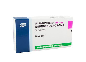 ALDACTONE 25mg Tabletas   Caja x30Tab. PFIZER Espironolactona