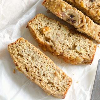 Oat Flour Banana Bread.