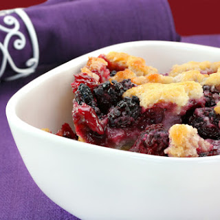 Mixed Berry Dump Cake.