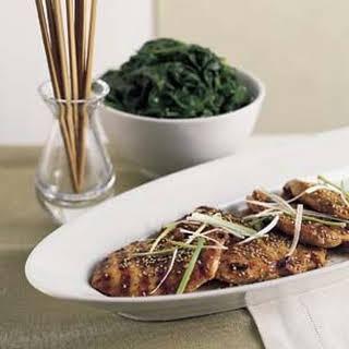 Grilled Chicken, Korean Style.