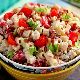 Vegetable Pasta Salad With Ranch Dressing Recipes.