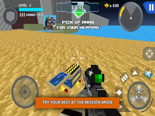 Cube Wars Battle Survival screenshots 11