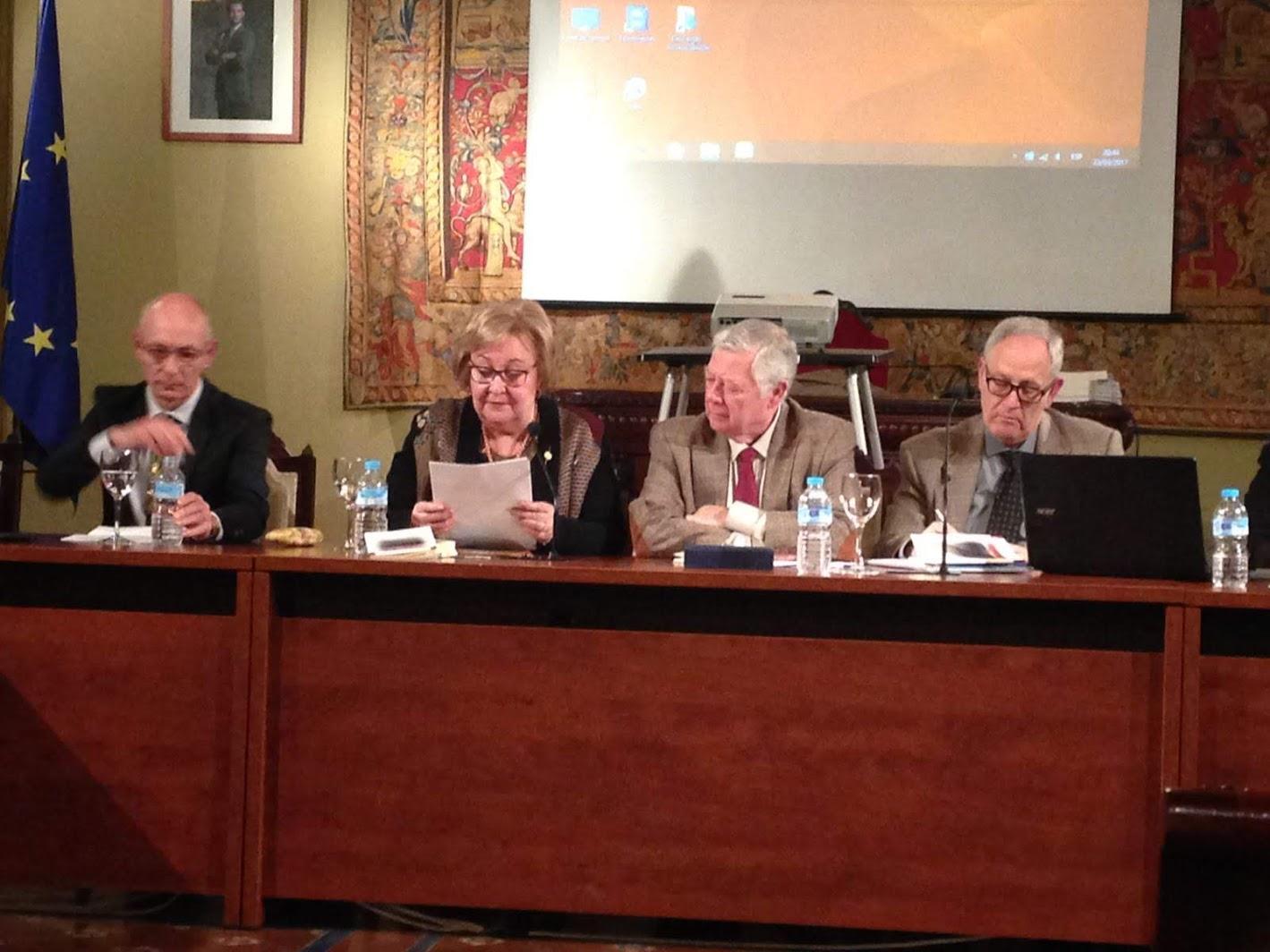 Presentación de El lugar de las dudas en la Real Academia de Córdoba