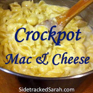 Crock Pot Mac & Cheese.