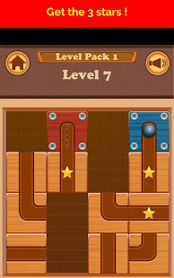 Roll Ball Escape - Slide puzzle - náhled