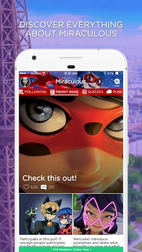 Miraculous Ladybug Amino 2.2.27032 screenshots 1