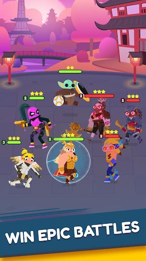 Heroes Battle: Auto-battler RPG  screenshots 5