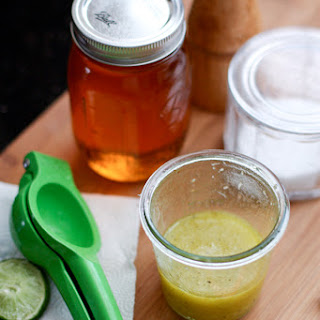 Honey, Lime and Garlic Vinaigrette Recipe