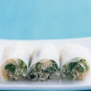 Rice Paper Rolls.