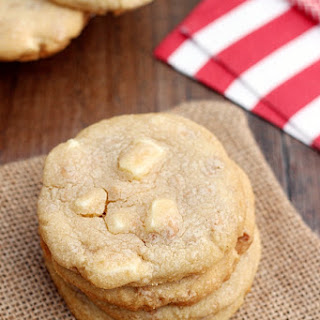White Chocolate Chunk Toffee Cookies