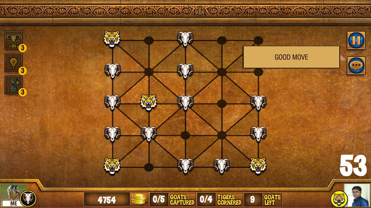 Goats and Tigers 2- screenshot