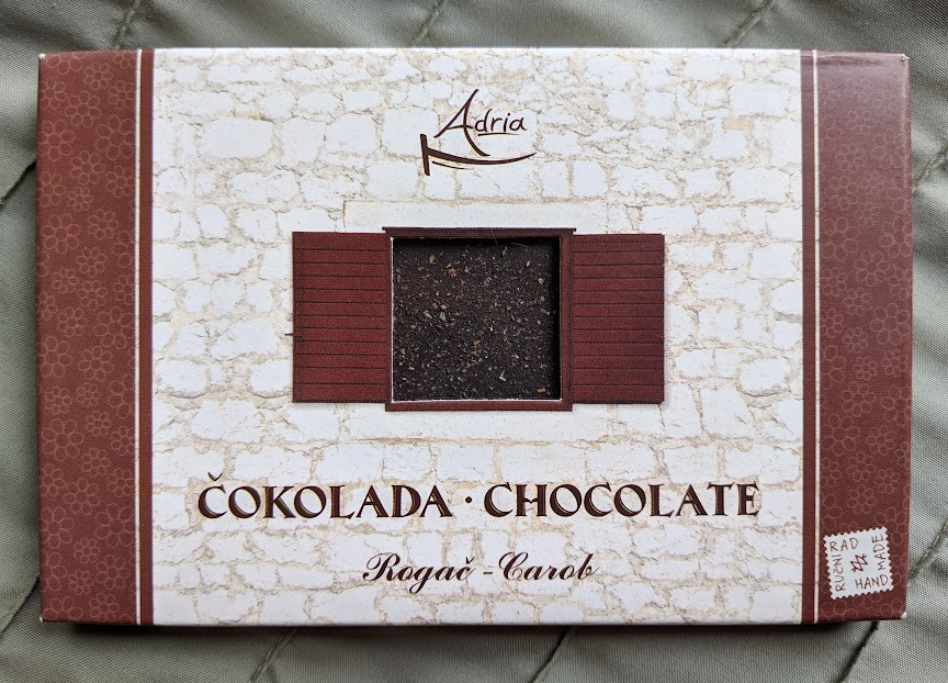72% Dark Chocolate with Rogac Bar