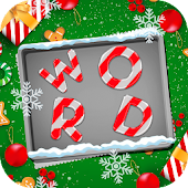 Christmas Word Game Santa Claus Puzzle Gift
