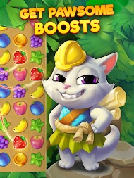 Tropicats: Free Match 3 on a Cats Tropical Island APK screenshot thumbnail 10