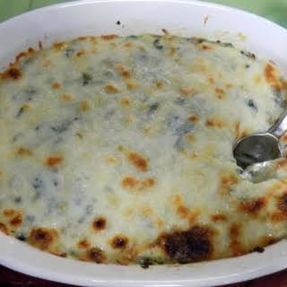 Hot Spinach and Artichoke Dip.
