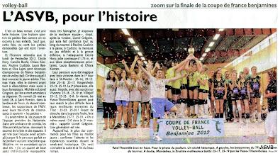 """Photo: 28-05-2012 Coupe de France benjamine """"historique!"""""""