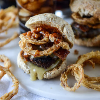 Meatloaf Sliders with Frizzled Onions