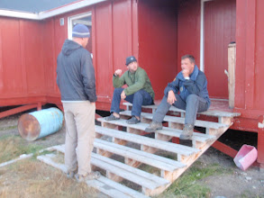Photo: Greenland - The Canoe Centre at the end of Day 2