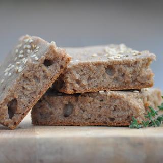 Whole Grain Flatbread (gluten-free, yeast-free, vegan)