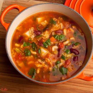 Grandma's Minestrone Soup.